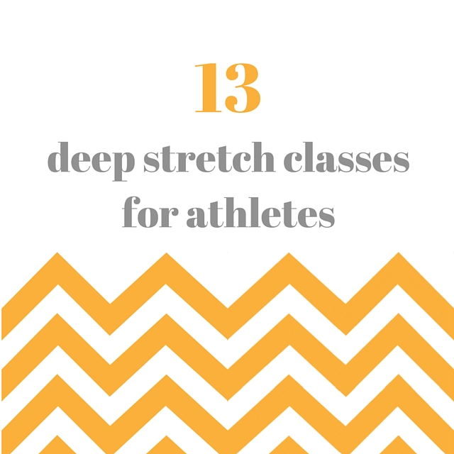 13 Deep Stretch Classes for Athletes
